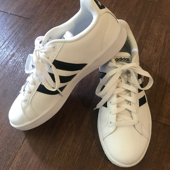 adidas Shoes Neo Sneakers Cloud Foam Sneakers Neo Size 75 Euc Poshmark 32085e